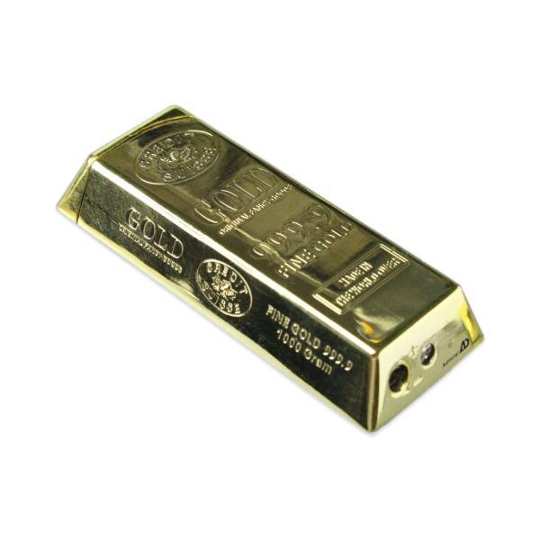 インゴットジェットライター ゴールド ライター 金塊 おもしろライター 面白い 喫煙具 アメリカン雑貨