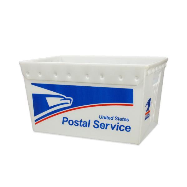 収納ボックス 収納ケース 箱 収納 おしゃれ 小物入れ アウトドア キャンプ 車 ガレージ インテリア アメリカ アメリカン雑貨 US POST BOX USPS イーグル