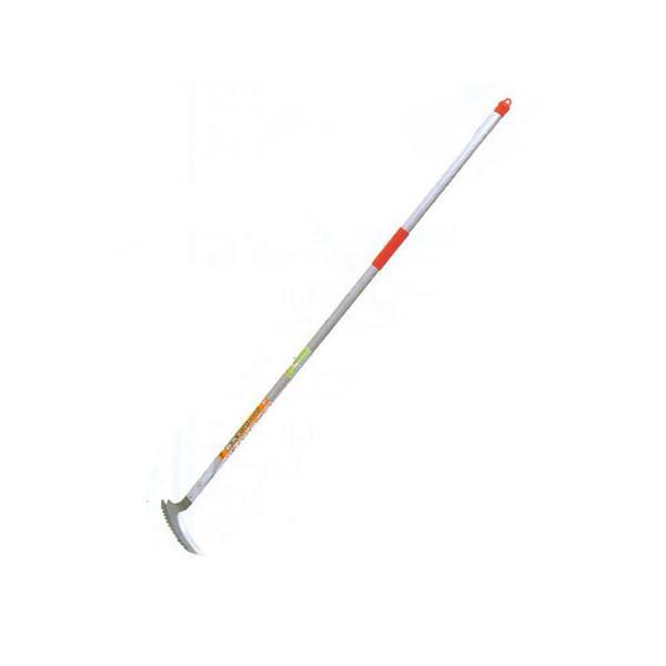 キンボシ 金星 #1534 ステンレス草刈りら〜く(立鎌)  大型園芸用具-草削鍬