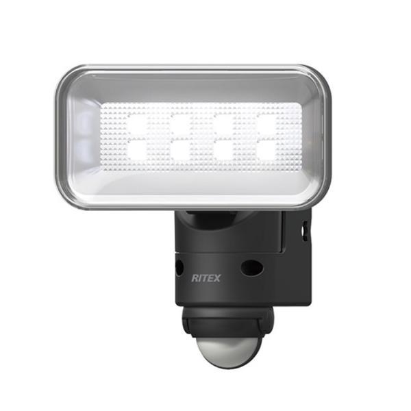 ムサシ RITEX ライテックス LED-AC105 「コンセント式・防雨型」 5W広角ワイド×1灯機式LEDセンサーライト