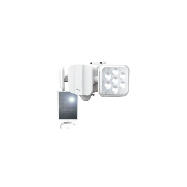 ムサシ ライテックス S-220L 5Wx2灯 LEDソーラーセンサーライト