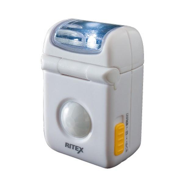 ムサシ RITEX ライテックス ASL-010 「乾電池式・防雨型」 LEDマイクロセンサーライト 佐川