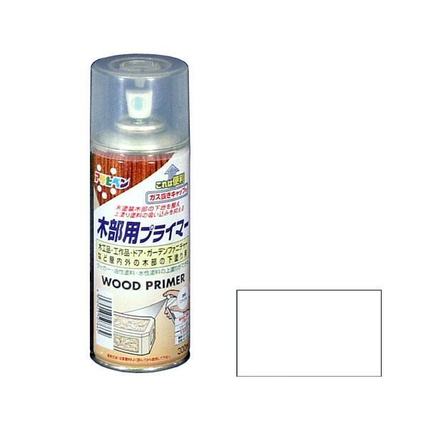 アサヒペン ASAHIPEN 木部用プライマー 透明(クリア) 300ml