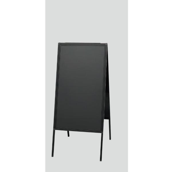 アルミ枠スタンド黒板(両面) 3台セット「ABD85-1」蛍光マーカー用 返品・代引不可品{光 hikari A型スタンド 黒板}