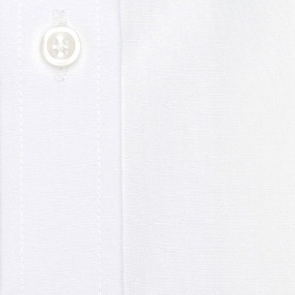 ワイシャツ メンズ 長袖 形態安定 形状記憶 綿100% 標準型 軽井沢シャツ ワイドスプレッド P12KZW211|plateau-web|06