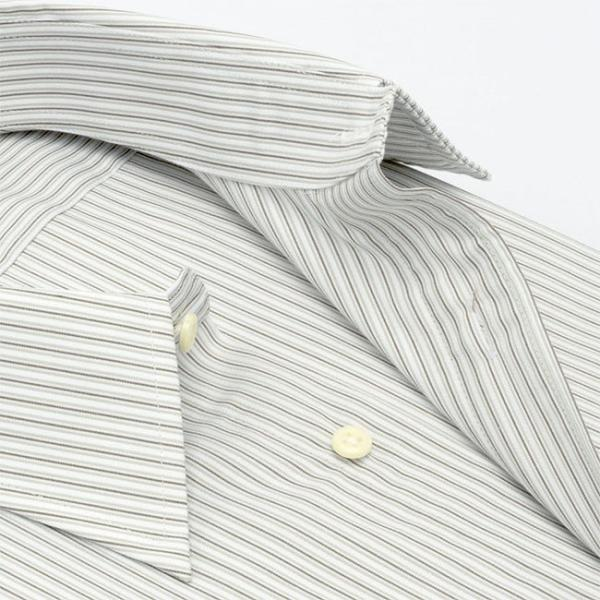 ワイシャツ メンズ 長袖 形態安定 形状記憶 標準型 marieclaire レギュラーカラー P12MCR213 plateau-web 04