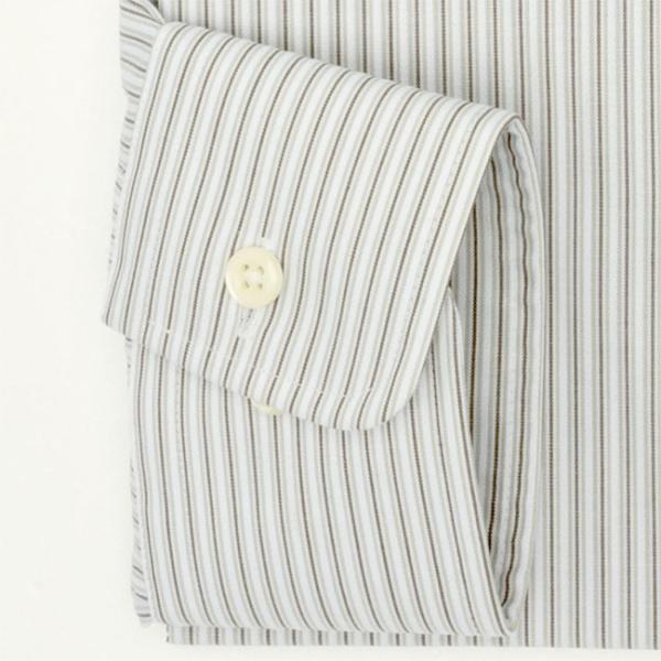ワイシャツ メンズ 長袖 形態安定 形状記憶 標準型 marieclaire レギュラーカラー P12MCR213 plateau-web 05