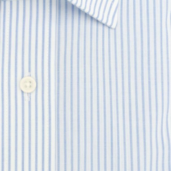 ワイシャツ メンズ 半袖 形態安定 形状記憶 標準型 BLUERIVER ワイドスプレッド P16BRW217 plateau-web 06