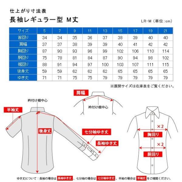 レディースシャツ 長袖 形態安定 標準型 PLATEAU P31KZA001|plateau-web|08