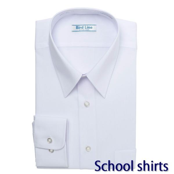 レギュラーカラー スクールシャツ 防汚加工形態安定 PLATEAU P63PLR200 plateau-web 02