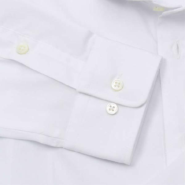 ワイシャツ Yシャツ メンズ らくらくオーダー 形態安定 軽井沢シャツ ワイドスプレッド Y10KZW002|plateau-web|04