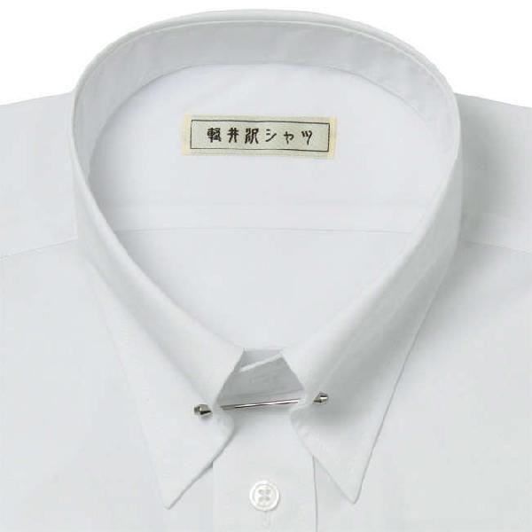 ワイシャツ Yシャツ メンズ らくらくオーダー 形態安定 軽井沢シャツ ピンホールカラー Y10KZZP01|plateau-web|03