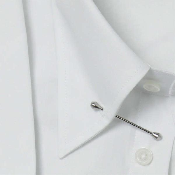 ワイシャツ Yシャツ メンズ らくらくオーダー 形態安定 軽井沢シャツ ピンホールカラー Y10KZZP01|plateau-web|04