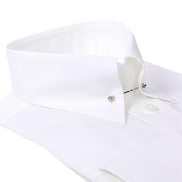 ワイシャツ Yシャツ メンズ らくらくオーダー 綿100% 軽井沢シャツ ピンホールカラー Y10KZZP02 plateau-web 03