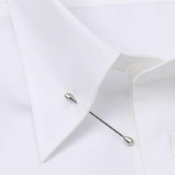 ワイシャツ Yシャツ メンズ らくらくオーダー 綿100% 軽井沢シャツ ピンホールカラー Y10KZZP02 plateau-web 04
