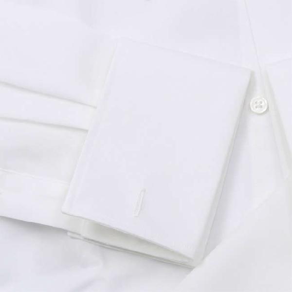 ワイシャツ Yシャツ メンズ らくらくオーダー 綿100% 軽井沢シャツ ピンホールカラー Y10KZZP02 plateau-web 05