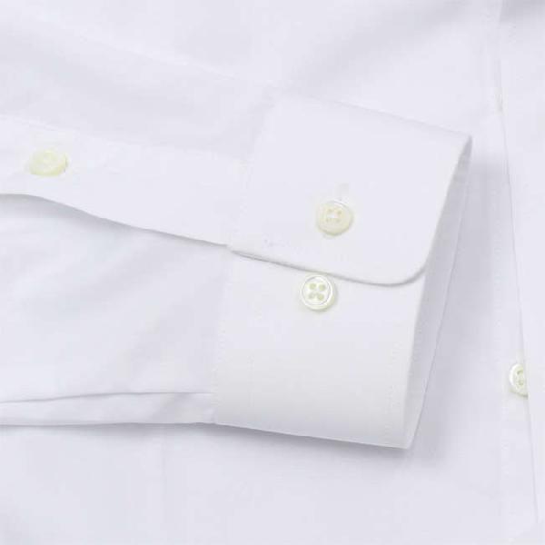 ワイシャツ Yシャツ メンズ らくらくオーダー 形態安定 軽井沢シャツ スタンドカラー Y10KZZS02|plateau-web|04
