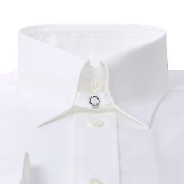 ワイシャツ Yシャツ メンズ らくらくオーダー 綿100% 軽井沢シャツ タブカラー Y10KZZT02|plateau-web|04