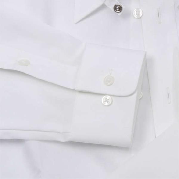 ワイシャツ Yシャツ メンズ らくらくオーダー 綿100% 軽井沢シャツ タブカラー Y10KZZT02|plateau-web|05