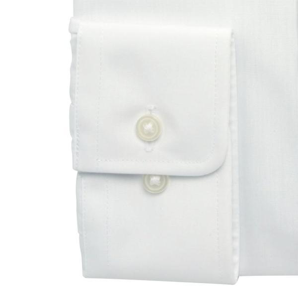 ワイシャツ メンズ 長袖 形態安定 形状記憶 標準型 CARPENTARIA レギュラーカラー Y12S3R101|plateau-web|05
