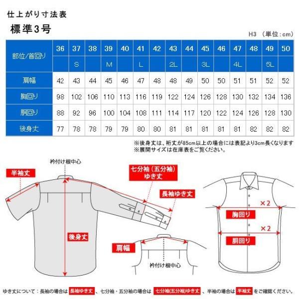 ワイシャツ メンズ 長袖 形態安定 形状記憶 標準型 CARPENTARIA レギュラーカラー Y12S3R101|plateau-web|07