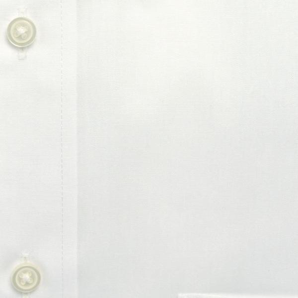 ワイシャツ メンズ 長袖 白 形態安定 形状記憶 防汚加工 Yシャツ 就活 冠婚葬祭 大きいサイズ レギュラーカラーY12WWR200|plateau-web|06