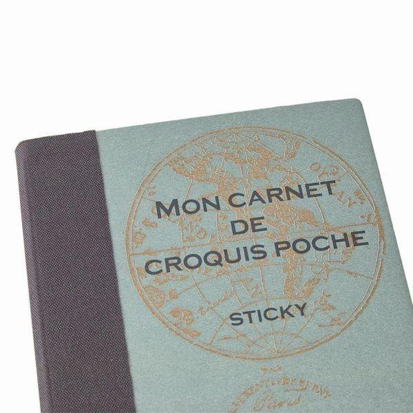 ふせん 可愛い付箋 目印 メモ インデックス おもしろ文具 おしゃれ文具 ROUGH BOOK STICKY|platinum-hearts|04