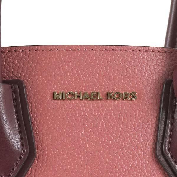 マイケルコース バッグ ハンドバッグ MICHAEL KORS MERCER 30T8TM9M2L MD ACRDION MESSENGER 891 ROSE MULTI  DBL SIDED MERCER PEBBLE 比較対象価格 49,680円