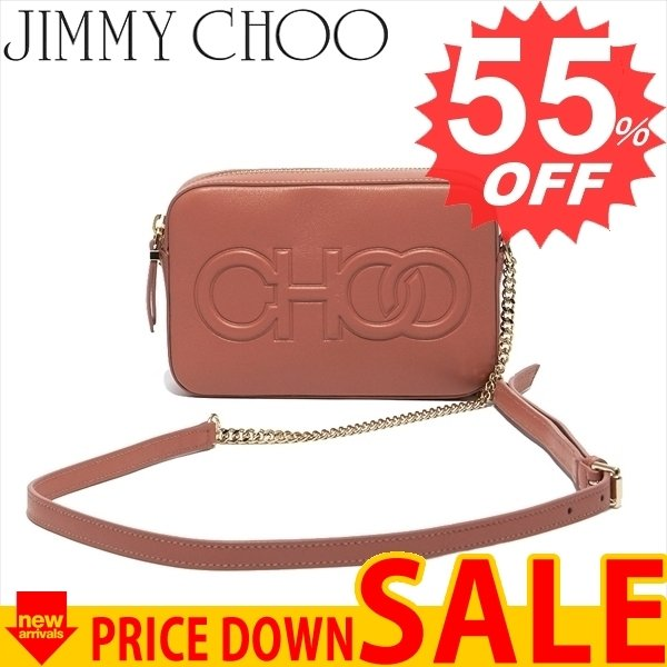 ジミーチュー バッグ ショルダーバッグ JIMMY CHOO  BALTI-PJC  ROSEWOOD  比較対照価格114,480 円