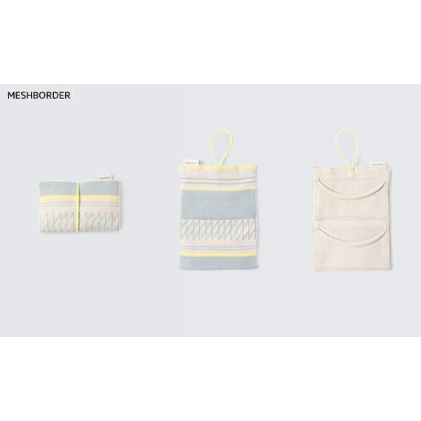 Tricote ビジネスカードホルダー MESHBORDER/SESAMI/STICK 10×7.5cm ポリエステル|play-d-play|02
