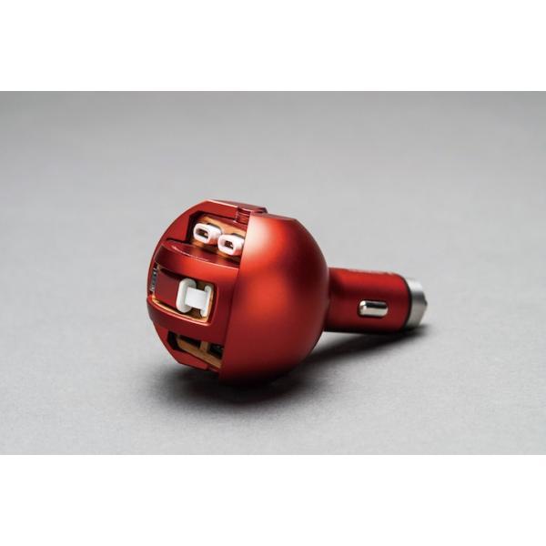 緊急脱出ハンマー カーチャージャー レスキューハンマー 車載 充電器 MFi認証 2.0A 急速充電|pleasant-japan|14