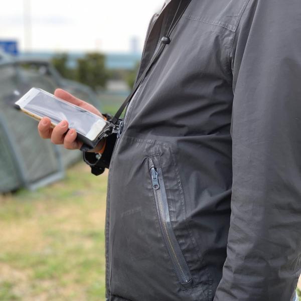 防水ケース スマホ 携帯 iPhone8 iPhoneSE iPhone 6s 6 スマホケース スマホポーチ IPX8 指紋認証対応 SweetLeaff|pleasant-japan|14