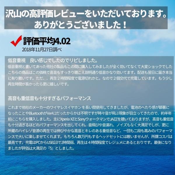 ブルートゥースイヤホン ワイヤレスイヤホン 両耳 高音質 カナル型 iPhone 8 Xs Xr 重低音 bluetooth 4.2|pleasant-japan|13