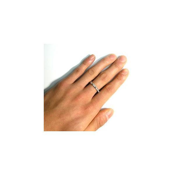 結婚指輪 プラチナ ダイヤモンドリング