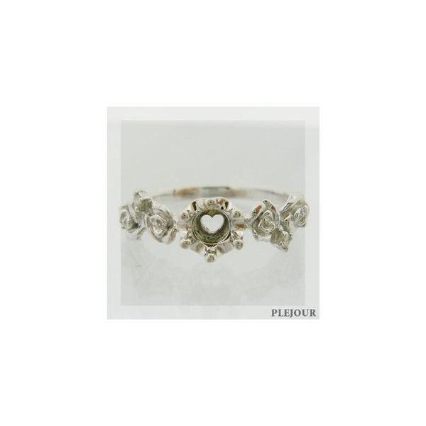 プラチナリング タンザナイト ダイヤモンド付 指輪