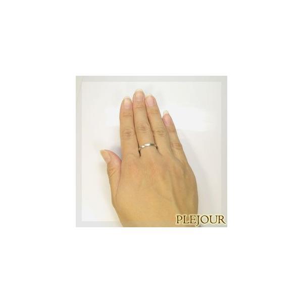 プラチナ マリッジリング シンプル 結婚指輪 安い