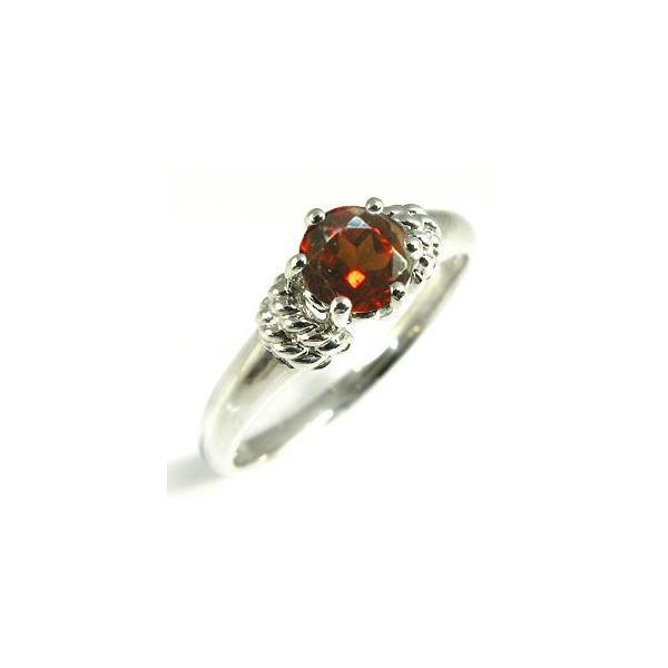 婚約指輪 安い ガーネット リング プラチナ 大粒 エンゲージリング