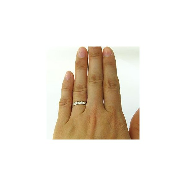 結婚指輪 プラチナリング ダイヤモンド マリッジリング ファランジリング