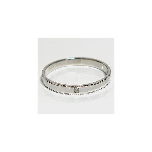 プラチナ ペアリング ダイヤモンド 結婚指輪 マリッジリング