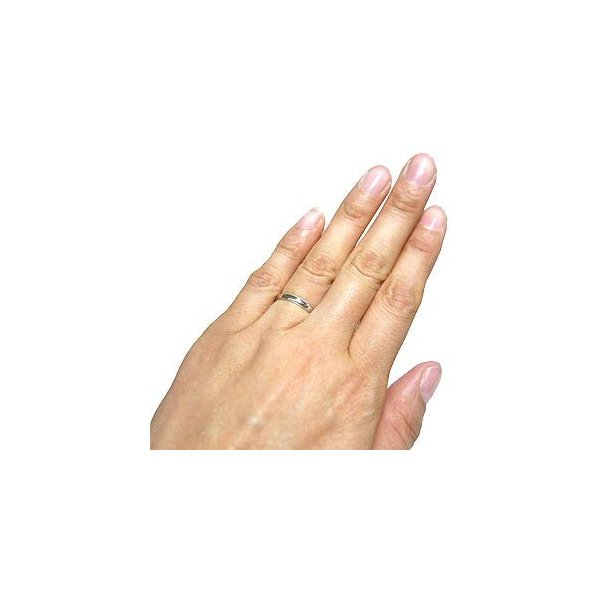 10金 ペアリング マリッジリング 甲丸 結婚指輪 安い ミル打ち