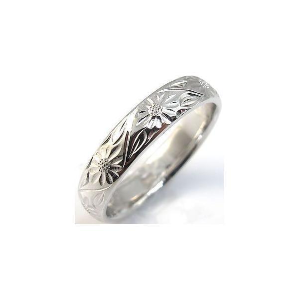 マリッジリング シルバー ハワイアンジュエリー 結婚指輪 安い
