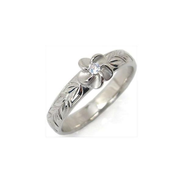 結婚指輪 プラチナ マリッジリング ロイヤルブルームーンストーン ハワイアンジュエリー リング