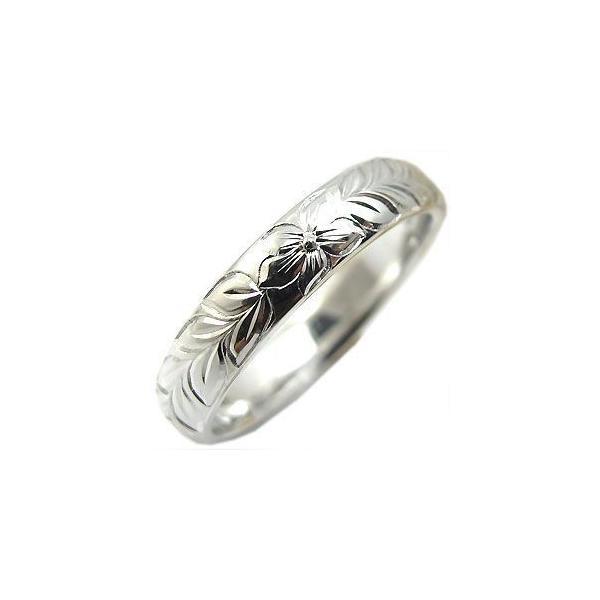 指輪 レディース ペアリング プラチナ ハワインアンジュエリー プラチナ リング ファランジリング