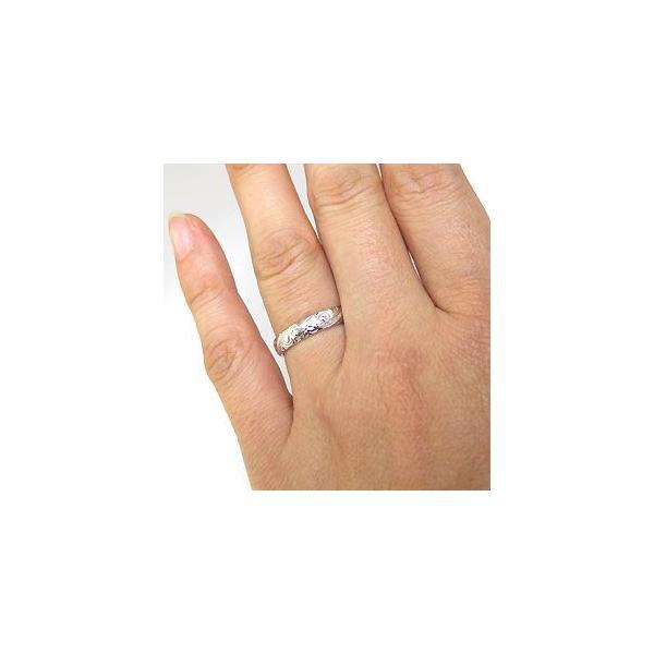 ハワイアンジュエリー リング ペアリング 結婚指輪 安い シルバー マリッジリング