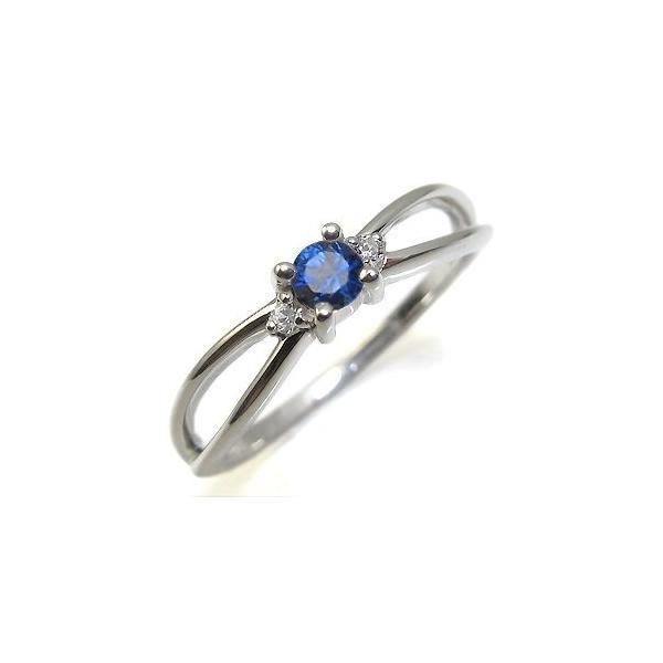 プラチナ サファイア リング 一粒 サファイヤリング 指輪 クリスマス ポイント消化