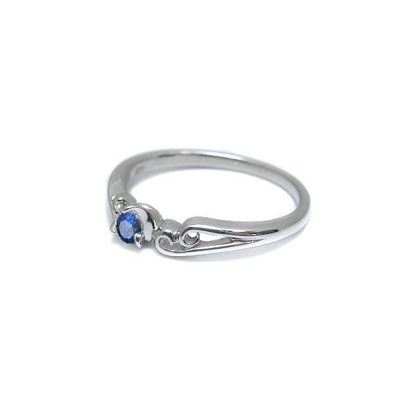 ファランジリング プラチナ 選べる誕生石 指輪 ピンキーリング シンプル リング