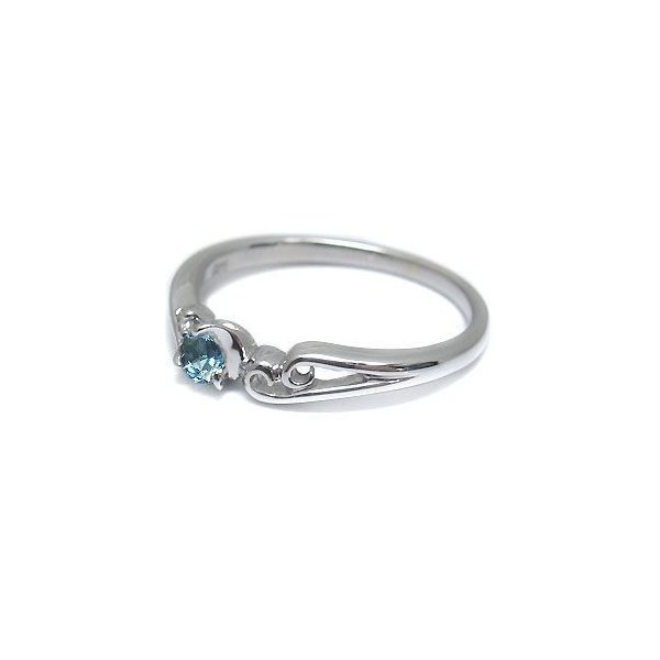 ファランジリング プラチナ リング ピンキーリング 選べる誕生石 シンプル 指輪