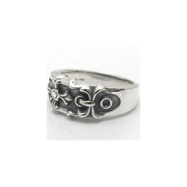 マリッジリング ペアリング シルバー リング ベルト クロス リング 指輪