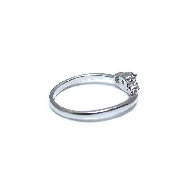 プラチナ リング ブルートパーズリング シンプル 一粒 指輪
