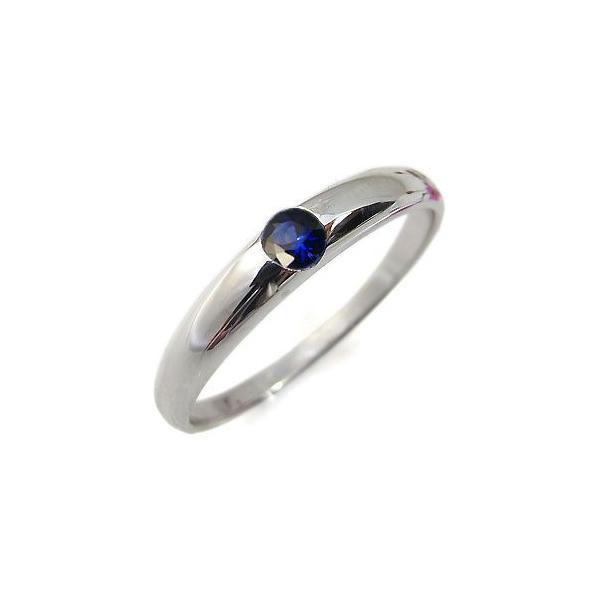 サファイア リング 一粒 k10 サファイヤリング 指輪